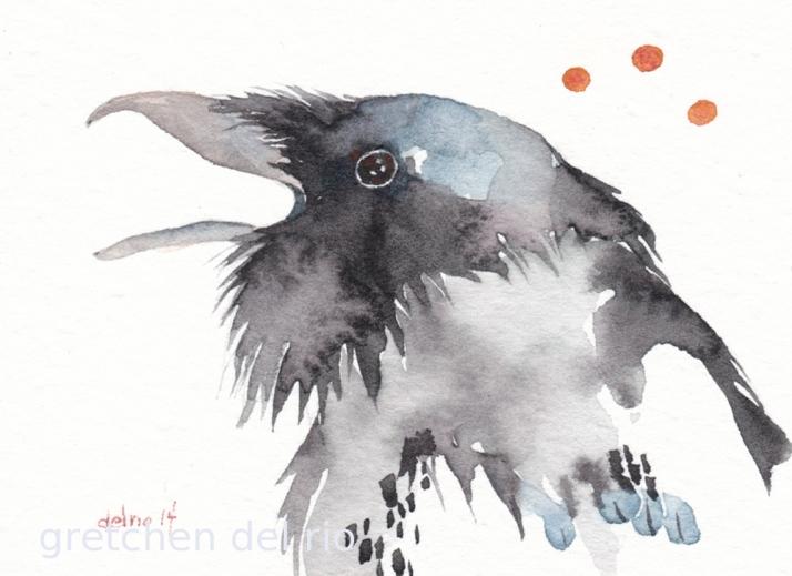 watercolor aceo 5/2014