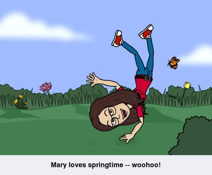 bitstrips - springtime