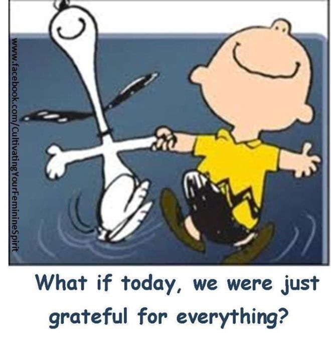 grateful - charlie brown