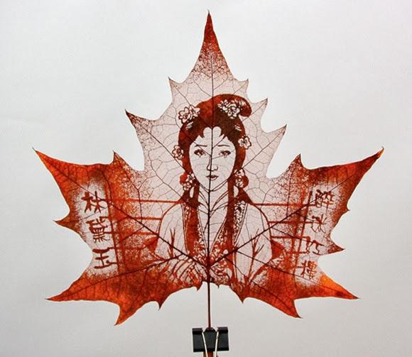 leaf carving art 1