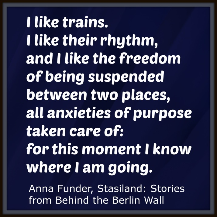 trains - anna funder