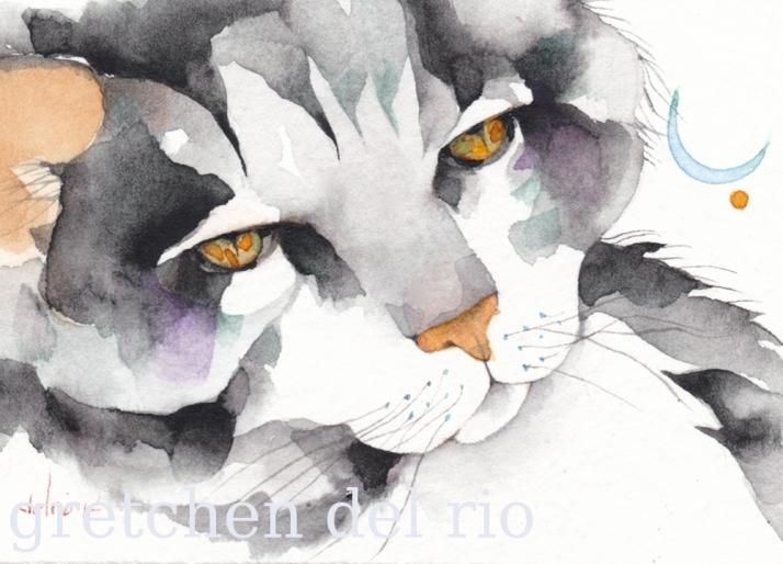 watercolor aceo 6/2014