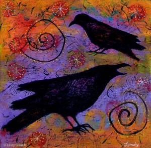 """""""Kindred Spirits"""" by artist Lindy Gaskill at artbylindy.com"""