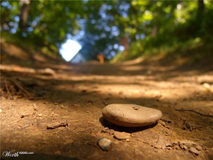 little stone