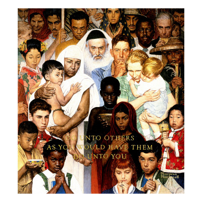Golden Rule Norman Rockwell