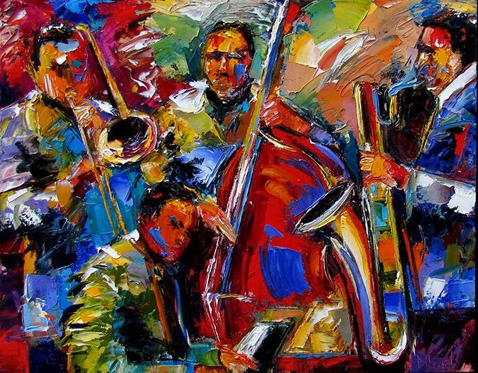 Image by Artist Debra Hurd, http://debrahurd.blogspot.co.uk/2013/09/jazz-art-music-painting-abstract.html