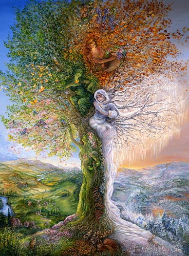 Image by Artist Josephine Wall, http://www.josephinewall.co.uk/tree_of_four.html