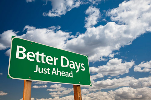 better days just ahead