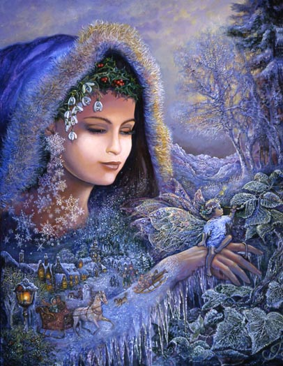 Image from artist Josephine Wall, http://www.josephinewall.co.uk/winter.html