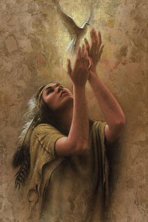 """Image by artist Lee Bogle, """"Eternal Gift"""" www.leebogle.com"""