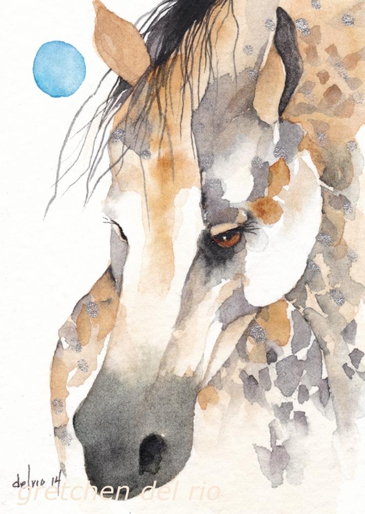 watercolor aceo 7/2014
