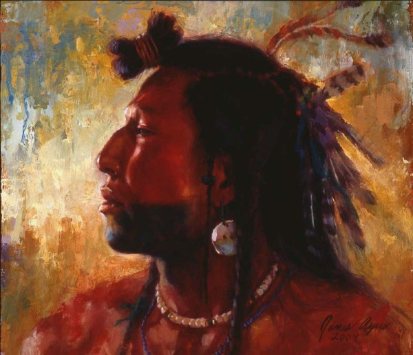 "Image by artist James Ayers, ""Soldier of His People - Blackfoot"" http://jamesayers.com/product/soldier-of-his-people-mandan/"