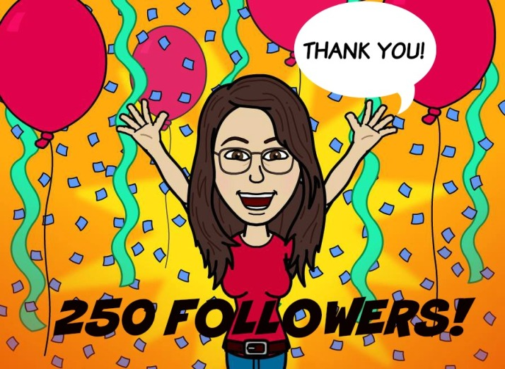 250 followers