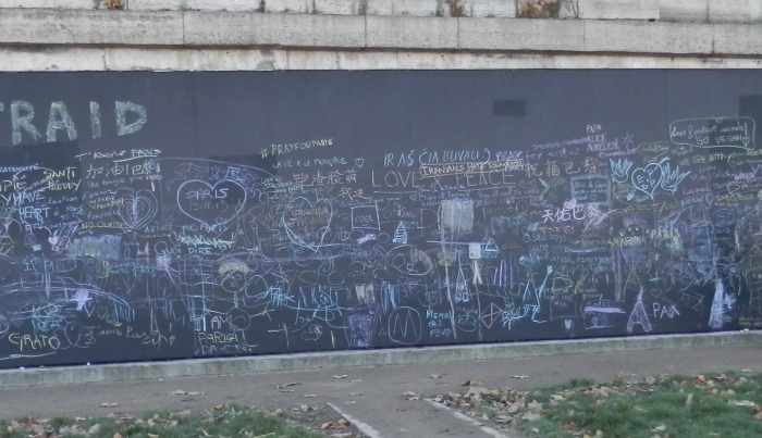 Blackboard at River Seine, C