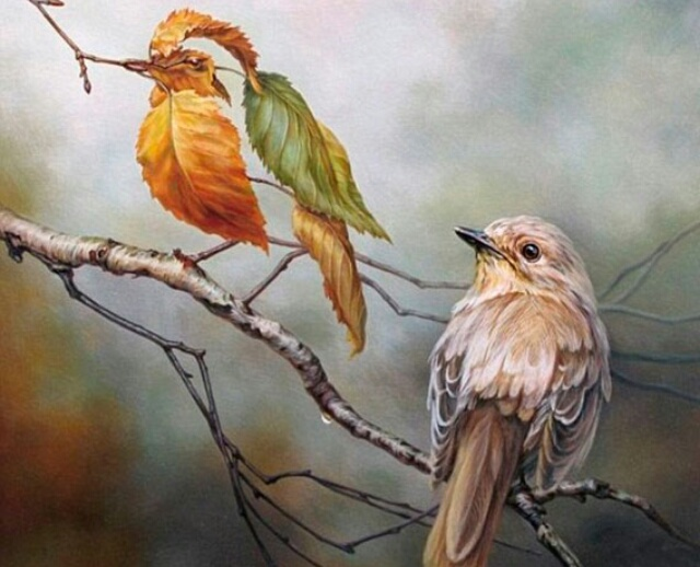 "Image by artist Oleg Shuplyak, ""Birds of a Feather"""